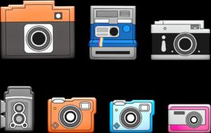 Polaroid til minder
