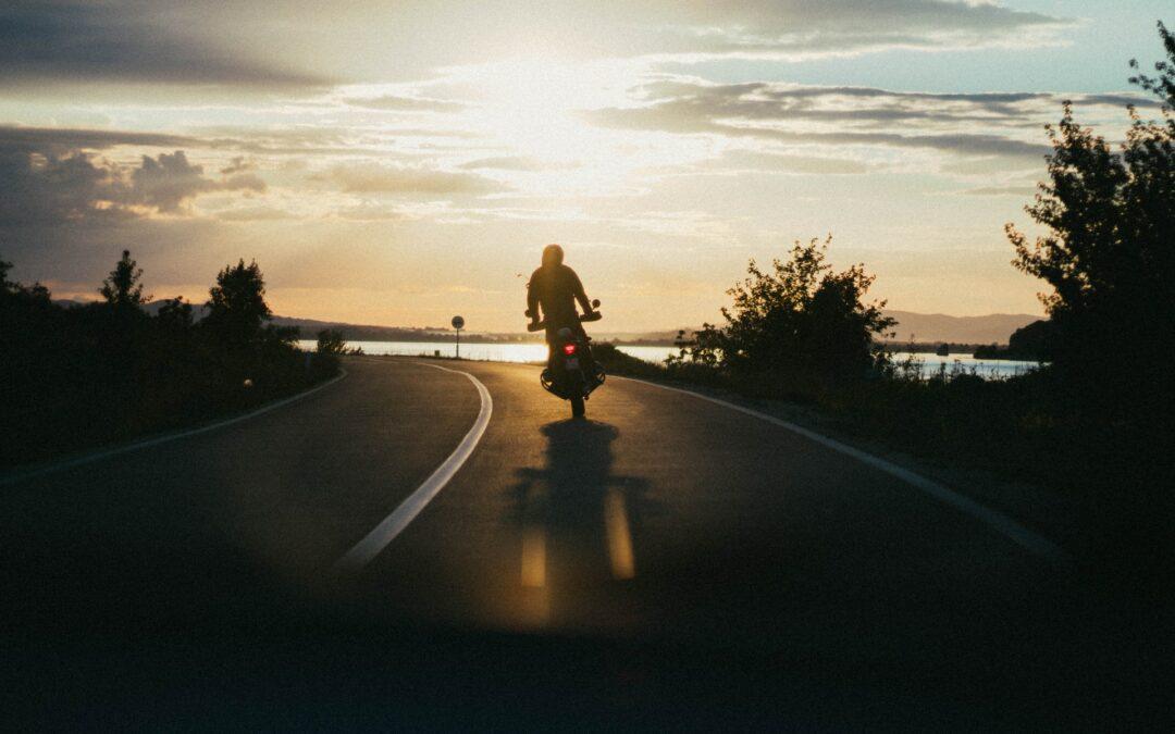 Få masser af frisk luft som motorcyklist