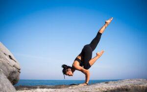 yoga - kvinde