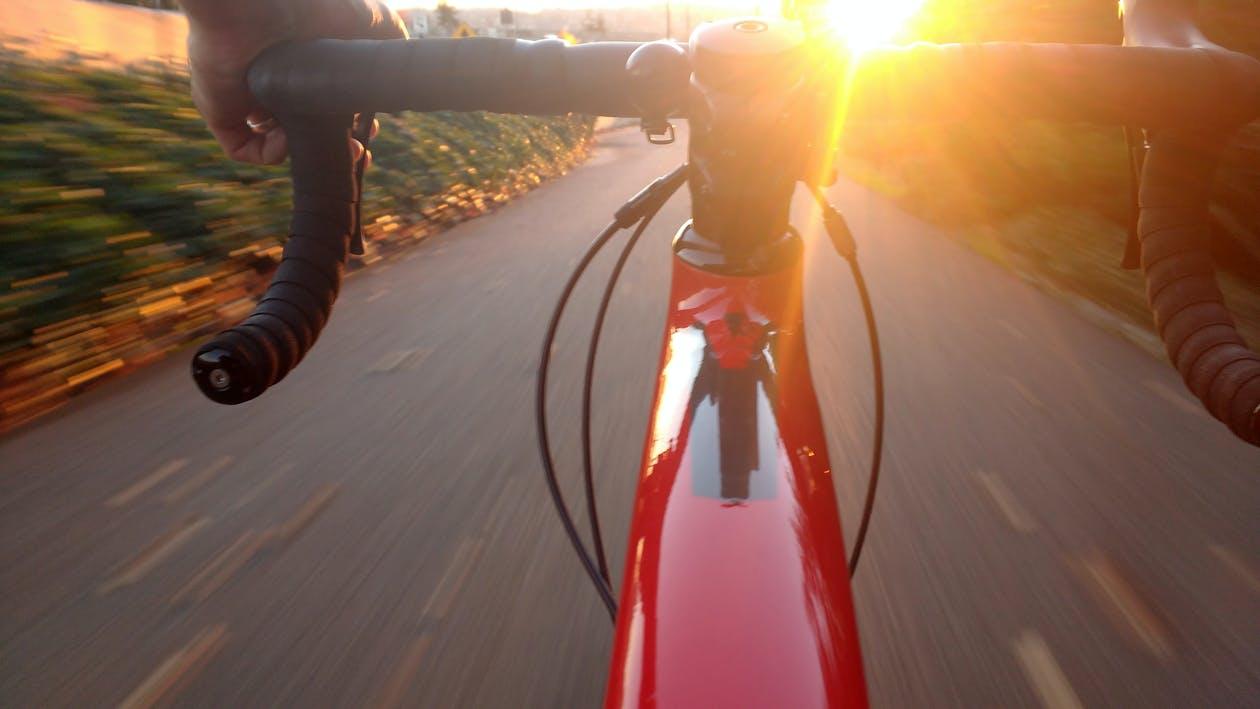en hyggelig cykeltur